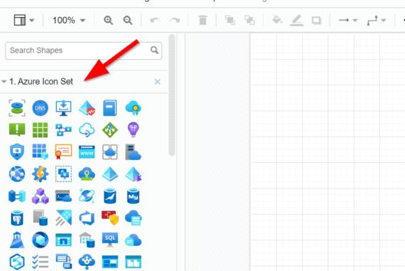 Working with Azure icons in draw.io (diagrams.net) - Modern Data & AIModern Data & AI - A blog on Power BI, Modern Integration & the Azure Data  Platform